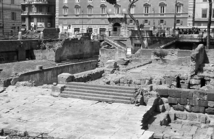 24 Rome ruins stairs